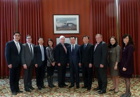 Chairman Visits the United States