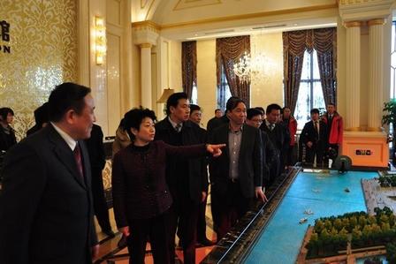 Vice-Governor of Jiangsu Visits Wanda Plaza