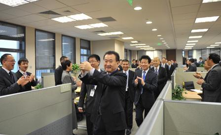 New Year Greetings from Chairman Wang Jianlin