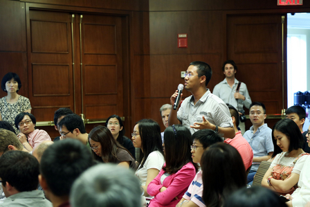 Chairman Makes a Speech at Harvard