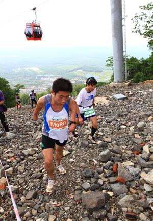 Wanda resort holds international trail-running race