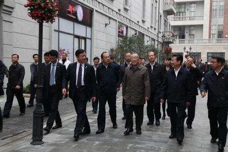 Li Lanqing Visited the Chu River and Han Street