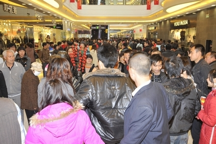 Sales at the Baotou and Hohhot Wanda Plaza have been robust since their grand opening