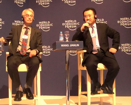 Chairman Wang Jianlin attends the Summer Davos Forum – Special Report