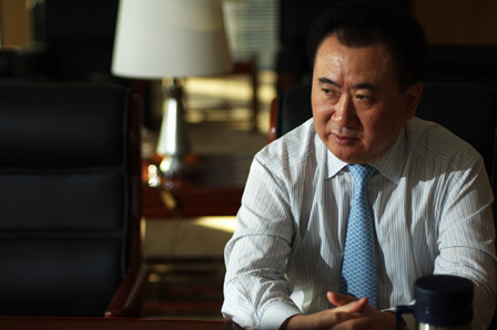 Wang Jianlin talks about China Dream at Fortune magazine