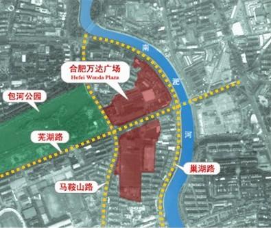 Wanda Group wins Meiling plot in Hefei