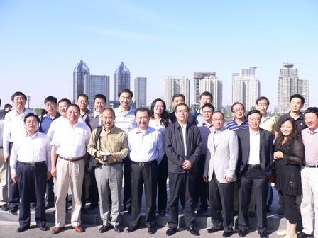 Wang Jianlin Attends CEC Member Exchange Visit Program