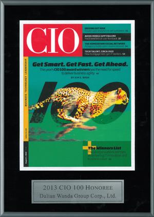Wanda Group wins CIO 100 award