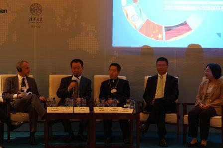 Wang Jianlin in spotlight at Summer Davos