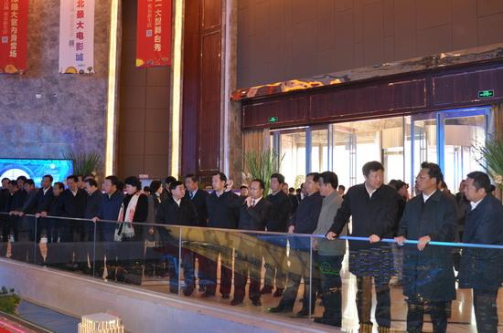 Heilongjiang Party Secretary inspects Harbin Cultural Tourism City
