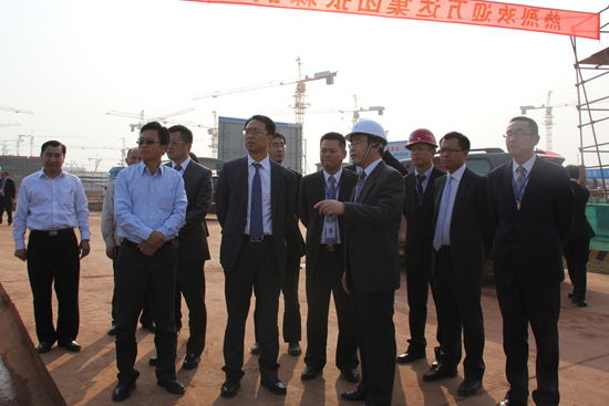 Culture Industry Group Executive President Zhang Lin visits Nanchang site