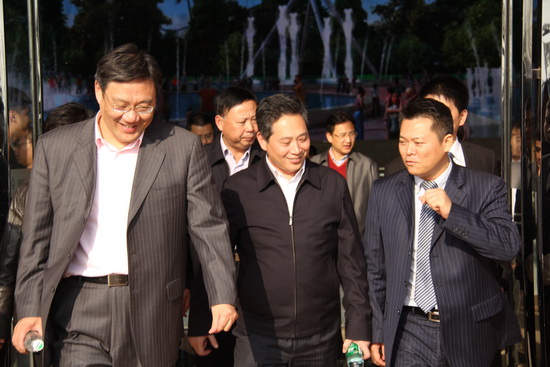 Nanchang Party Secretary visits Wanda City project site