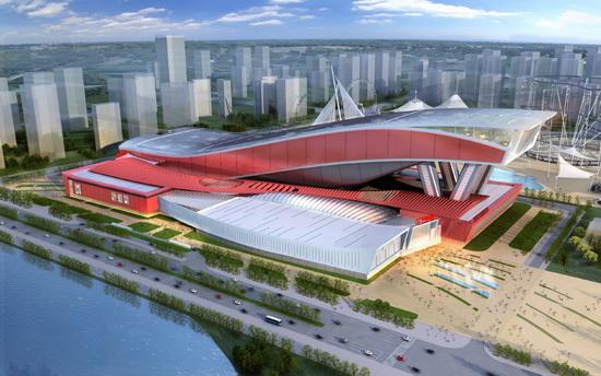 哈尔滨神马城立面方案确定标志着建设工作全面展开万达九影院达达兔六度电影网图片