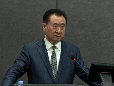 """王健林董事长讲""""创新的企业管理""""; 王健林董事长哈佛大学演讲_董事长"""
