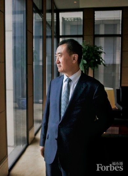 Wang Jianlin is Forbes China's 2013 Businessman of the Year