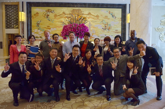 Xi'an Wanda Hilton Hotel hosts US First Lady Michelle Obama