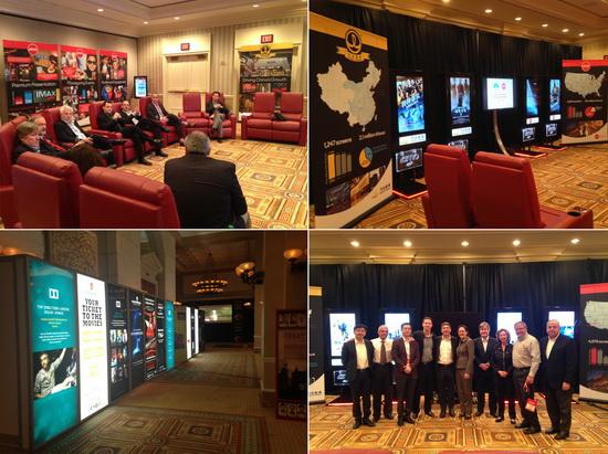 Wanda Cinema, AMC attend CinemaCon together for 1st time
