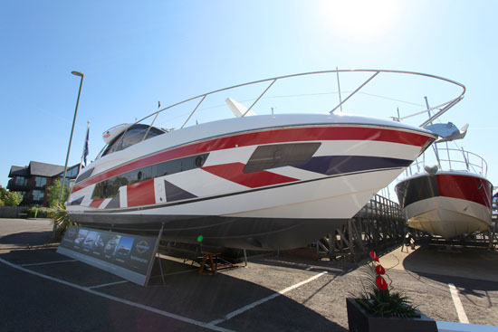 Sunseeker to take centre stage at British Motoryacht Show