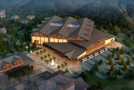 5月13日,万达文旅规划院结构所主持召开了长白山国际度假区室内水乐园