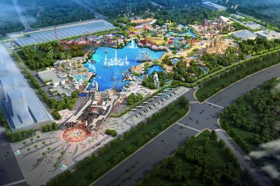 广州万达主题乐园总图方案设计通过评审
