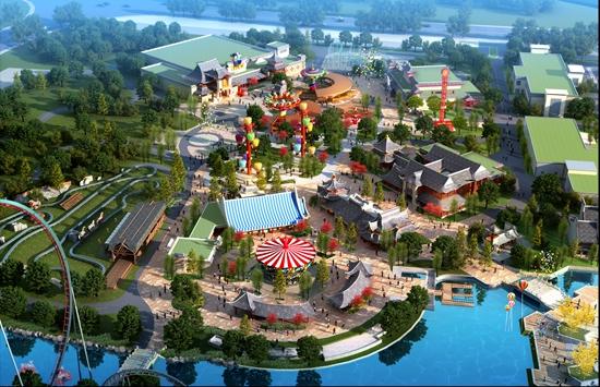 无锡万达主题乐园建筑方案确定