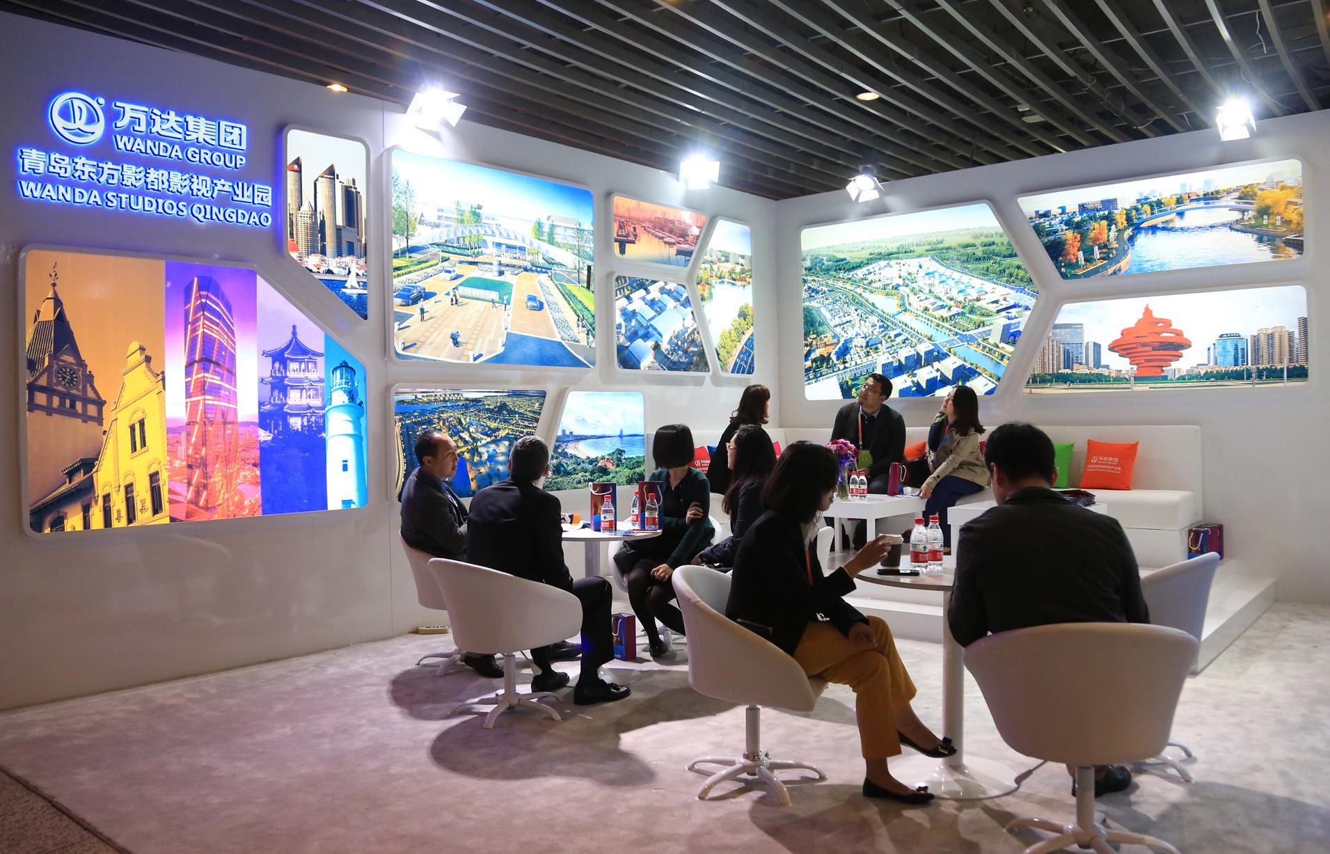 Wanda Studios Qingdao Showcased at 5th Beijing International Film Festival