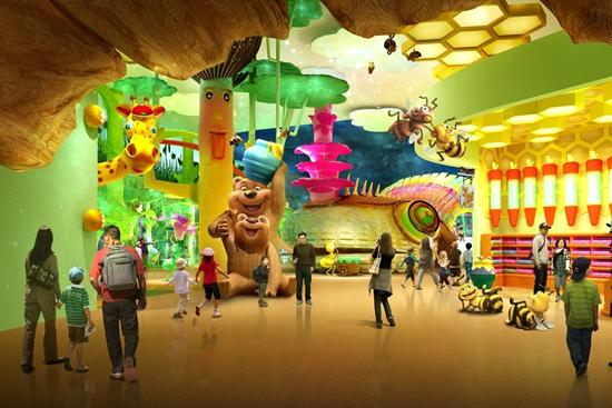 上海青浦儿童单体乐园设计方案完成