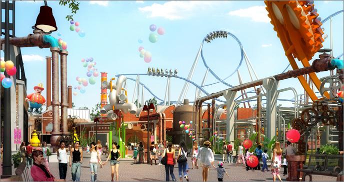 Outdoor Theme Parks Wanda Group