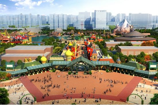 哈尔滨万达主题乐园全面进入施工阶段