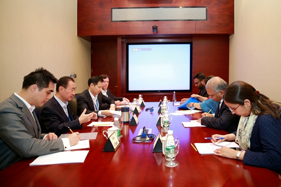 Chairman Meets with Indian Ambassador to China