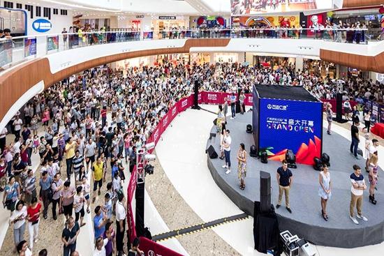 Wanda opens new plaza in Guangzhou Luogang