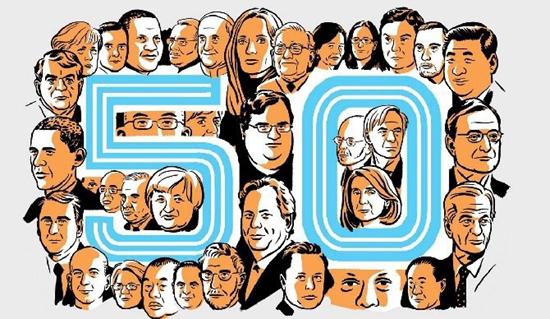 王健林入选全球50大最具影响力人物