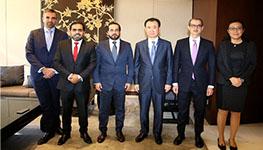 MERAAS Holding delegation visit Wanda Group