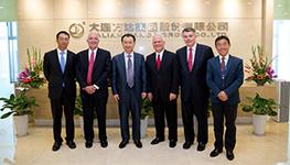 Wang Jianlin meets with AMC Interim CEO