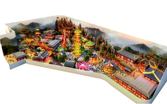 南京万达茂室内主题乐园单体方案签批通过