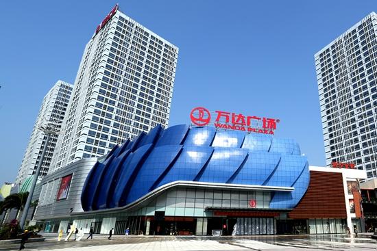 广州南沙万达广场开业