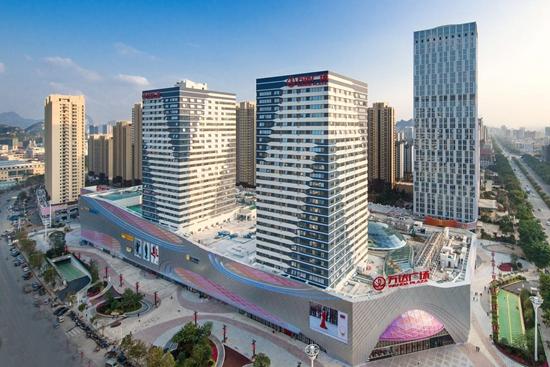 Liuzhou Wanda Plaza debuts, marking the 129th Wanda Plaza