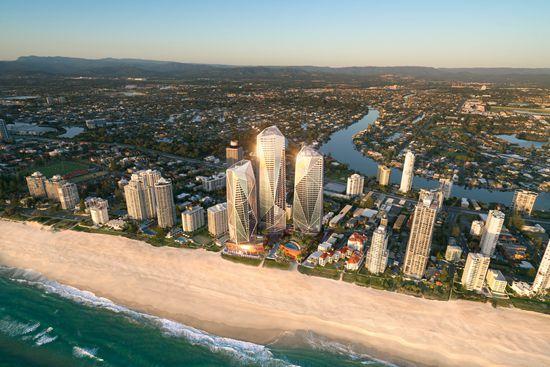 Jewel on Australia's Gold Coast wins dual Asia Pacific property awards