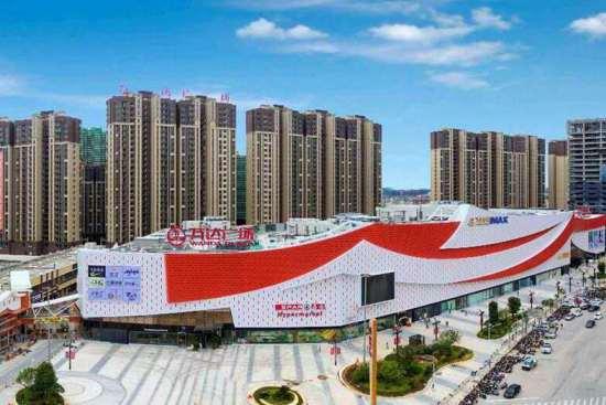 广东梅州万达广场开业