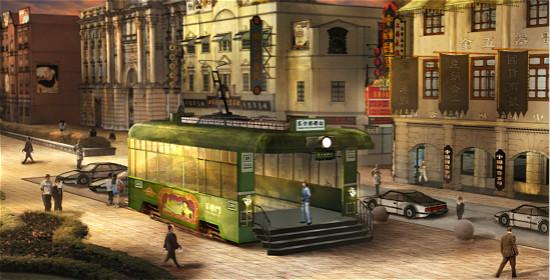 近日,青岛东方影都影视产业园外景地地铁站设计方案通过集团签批。地铁站出口分别位于外景地老上海主题区、欧美风情主题区内,其概念方案依据影视剧中经典的欧美街景和民国老上海场景进行设计,把具有实用功能的地铁口与影视外景地结合在一起,属于世界首创。 概念方案精选了影视主题中具有代表性的设计元素,使每个出入口都具有独特造型和色彩,巧妙运用影视置景手法,把地铁出入口包装成为老式轨道车、特色门楼等影视美术形象,与周边的年代建筑、景观、附属道具组合成和谐统一的、具有鲜明年代地域特征的场景,逼真呈现上世纪百年前的中国城市
