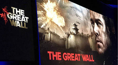 Wanda and Legendary's The Great Wall Holds Launch Ceremony in Los Angeles