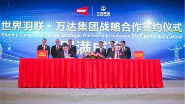 BWF and Wanda Announce Landmark Partnership