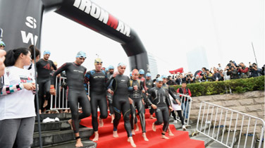 IRONMAN's First China Race IRONMAN 70.3 Hefei Wraps up Successfully