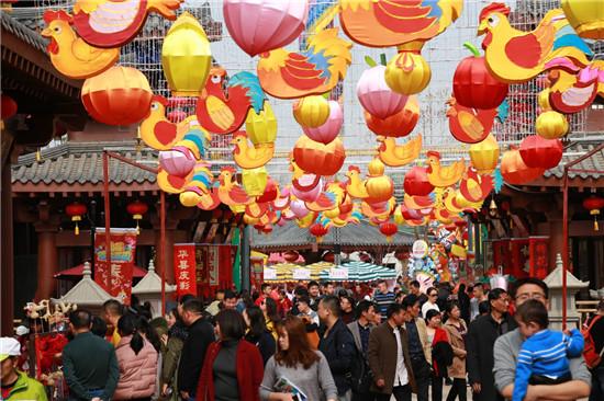 万达城成中国最大春节庙会南昌合肥七天客流超150万