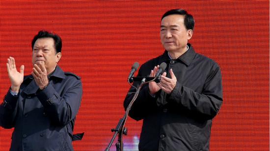 """乌鲁木齐白鸟湖明仕国际娱乐城开工  打造""""一带一路""""旅游新中心"""