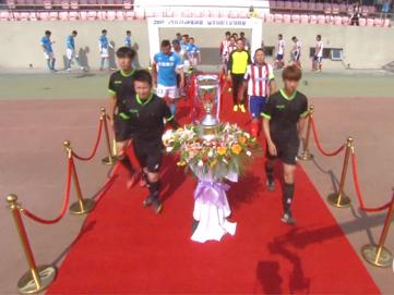 万达集团第二届全国职工足球联赛总决赛花絮