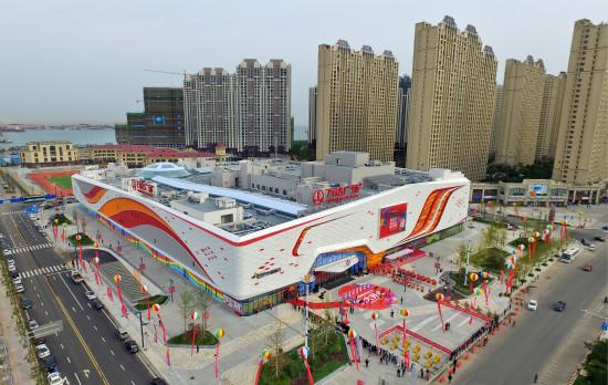 Gangwan Wanda Plaza in Qingdao Opens for Business
