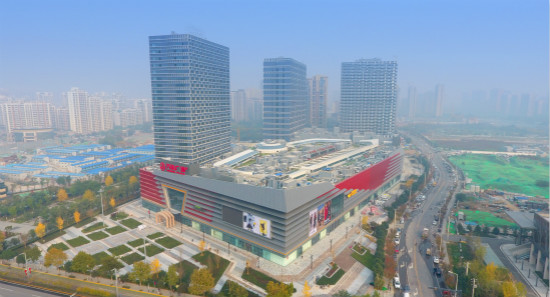 Gaoxin Wanda Plaza in Xi'an Opens for Business