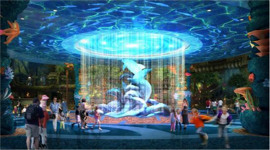 重庆万达海洋乐园室内包装方案签批移交