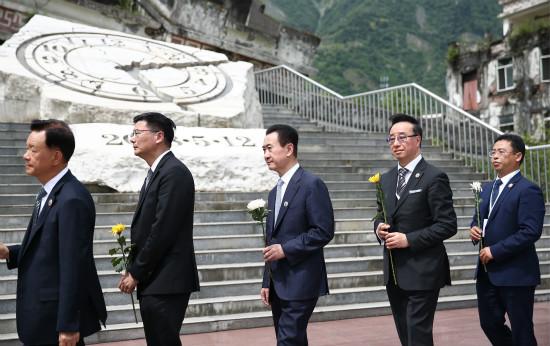 """王健林董事长受邀出席""""5·12""""抗震救灾十周年系列活动"""